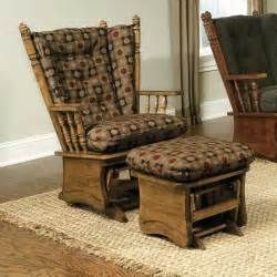 Rocking Chair Pads Cushions Furniture Fancy Glider Rocker Replacement Cushions For