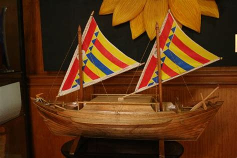 balangay boat pictures model in the mayor s office