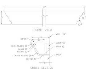 pdf plans for a fireplace mantel plans free
