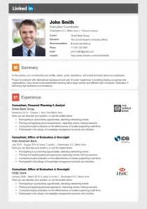 Resume Linkedin by Linkedin Resume Template Cover Letter References