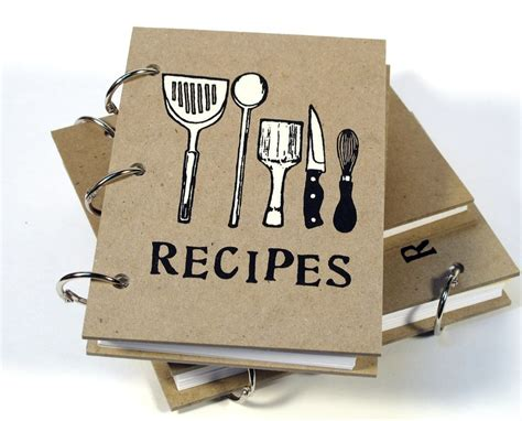 recipe of books blank recipe book 4in x 6in by bethbee on etsy