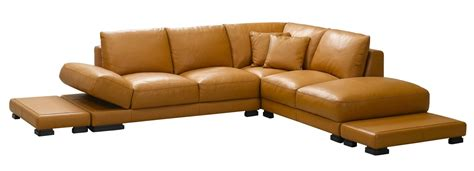 modern camel sectional sofa