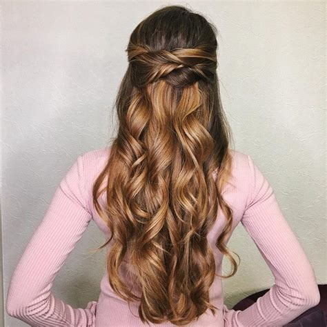 pictures of partial updo hairstyles half up half down wedding hairstyle partial updo bridal