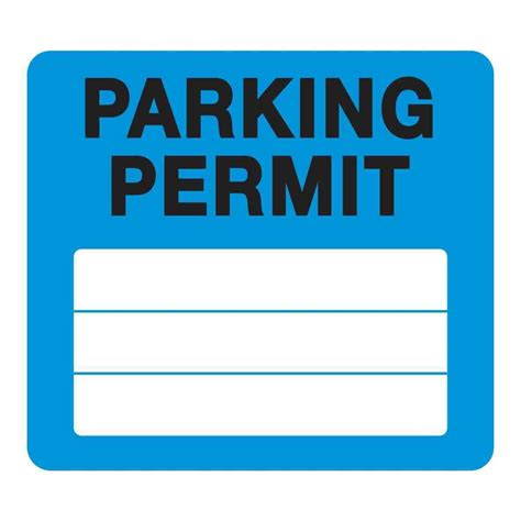 Parking Permit Template Images Template Design Ideas No Parking Template Word