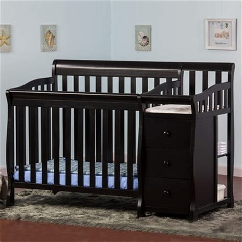 black convertible baby cribs on me 2 in 1 convertible baby crib with changer in black free shipping