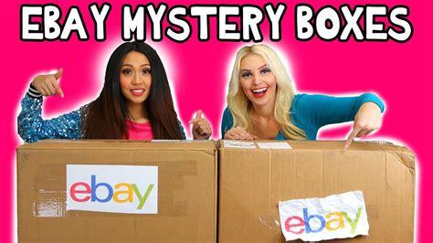 ebay mystery box ebay mystery box haul jenn vs thia unboxing video