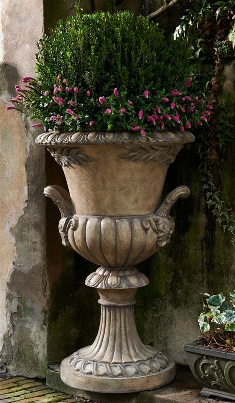 1142 Best Planter Urn Arrangements Images On Pinterest Outdoor Planters And Urns