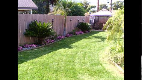 Backyard Small Landscaping Ideas Agreeable Together With