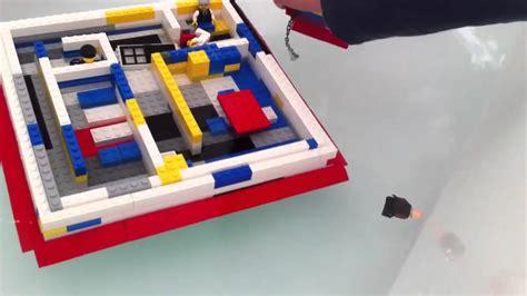 lego boat sinking videos lego sinking ship youtube