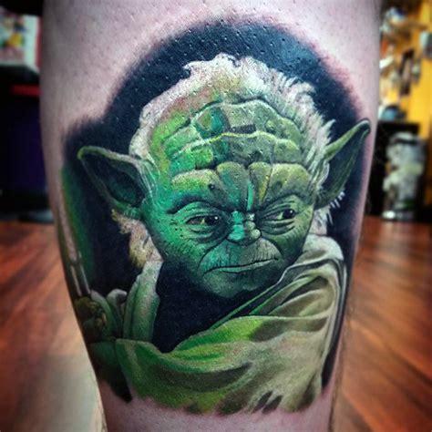 tattoo baby yoda ink masters 60 yoda tattoo designs for men jedi master ink ideas