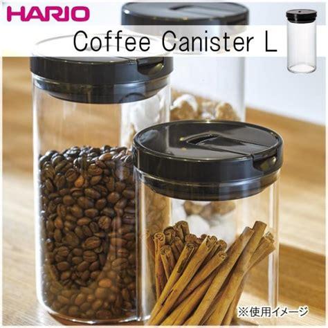 Hario Coffee Canister 300 Black Fujix Rakuten Global Market Hario Hario Coffee Canister L Black Mcn 300b