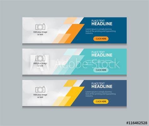 Abstract Web Banner Design Template Buy This Stock Vector And Explore Similar Vectors At Adobe Banner Html Template