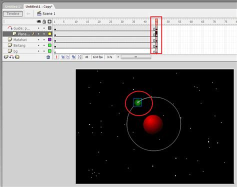 cara membuat video animasi dengan macromedia flash cara membuat animasi tata surya dengan perintah motion