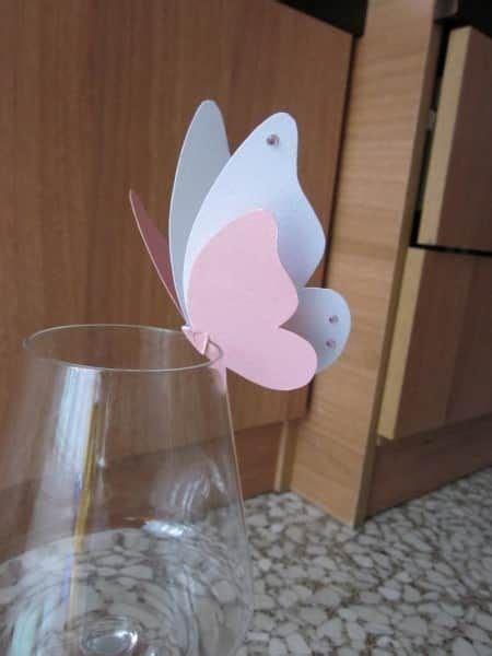 farfalle segnaposto per bicchieri segnaposto farfalla bicchieri fai da te 9 decorazioni