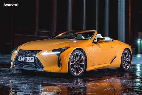 convertible lexus lexus lc convertible and lc f performance model to lead
