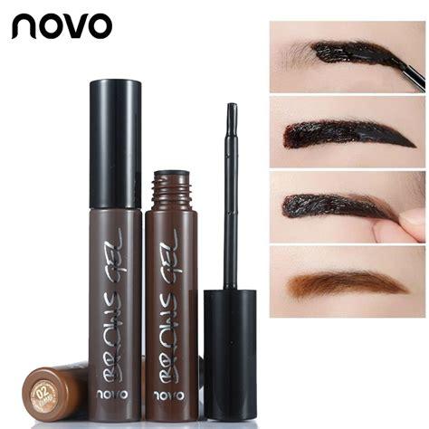 Novo Eyebroweyeliner novo brand eye brow makeup 3d peel eyebrow gel lasting waterproof eyebrow tint