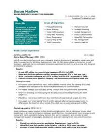 marketing manager resume best business template