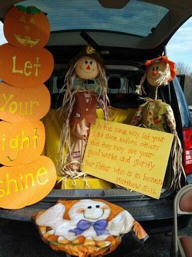 halloween themes for church church trunk or treat idea halloween pinterest mops