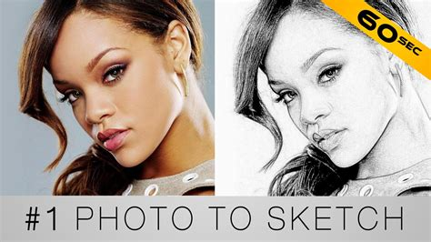 1 turn your photo into a sketch photoshop in 60 seconds