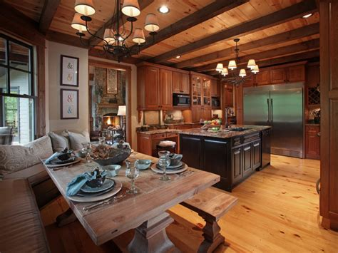 lodge kitchen crazy fox lodge traditional kitchen atlanta by
