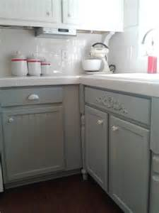 Kitchen Cabinet White Paint Remodelaholic Painting Oak Cabinets White And Gray