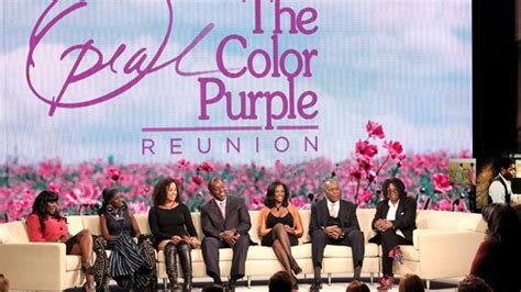 the color purple oprah the color purple cast shares their favorite lines