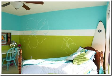 girls surf bedroom roxy girl teen bedroom