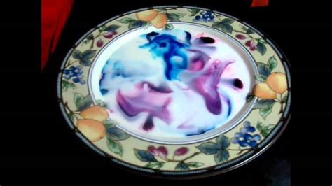 milk food coloring and dish soap experiment cool milk food colouring and dish soap experiment