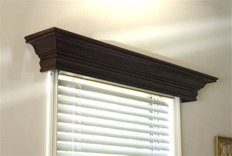 White Wood Valance ashton custom wood cornice wood windows white wood and
