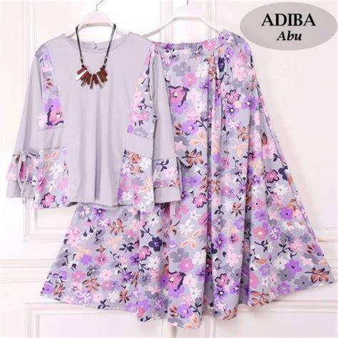 Blouse Jersey Setelan baju setelan rok blouse adiba butik jingga