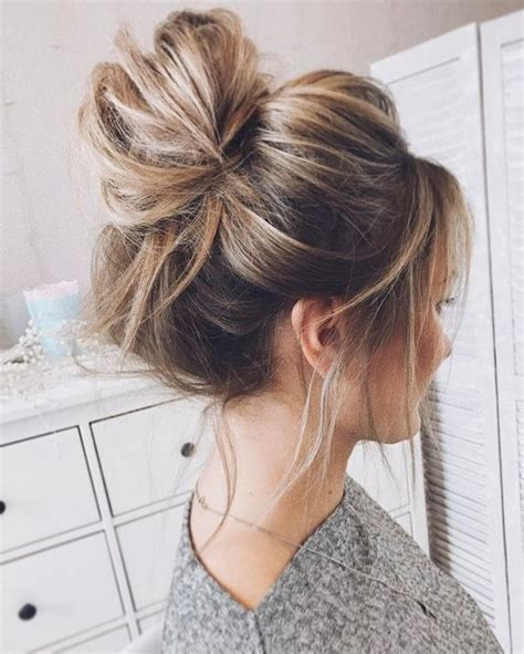 Wedding Hair Buns Styles by 47 Updo Hairstyles That You Can Wear Anytime Anywhere