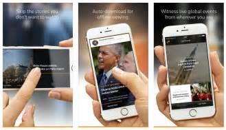 reuters news mobile reuters launches mobile tv news app for iphone hd report