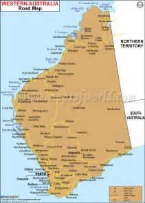 map western australia road map of western australia maps western australia westerns and australia