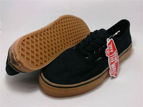 Harga Vans Black Authentic harga vans skool black gum original darmowa dostawa