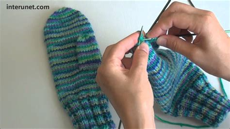 how to knit gloves with circular needles how to knit mittens tutorial with detailed