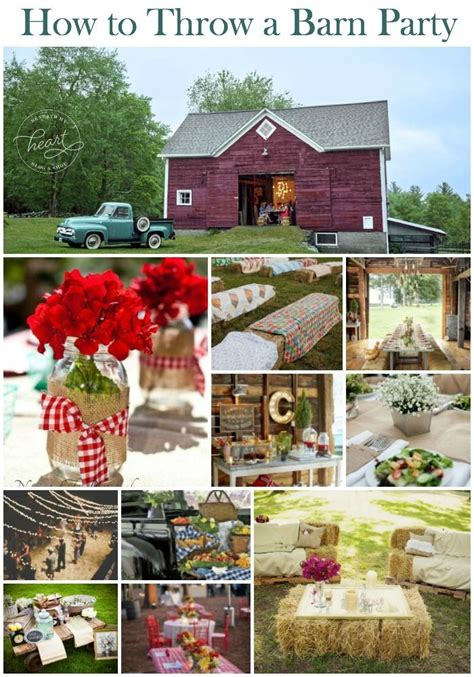 how to throw a backyard party best 25 barn party decorations ideas on pinterest barn