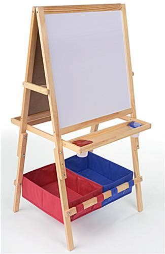 easels for kids easel for kids a frame chalkboard markerboard with baskets