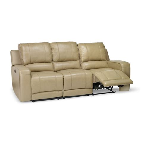 Power Reclining Sofa Set Terrence Power Reclining Sofa Loveseat And Recliner Furniture