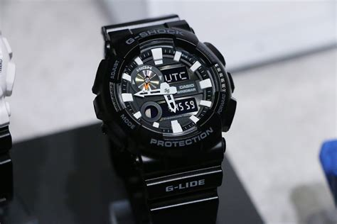 Casio G Shock Gax100 g shock g lide gax 100 with tide moon thermometer