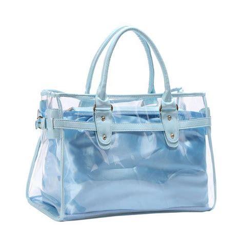 Mieru Jelly Transparent Bag Orange 25 vochic claro totalizador transparente bolso de hombro