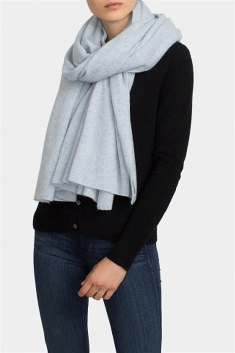 Throw On A Snuggly Shrug From White Warren For A Dose Of Style Fashiontribes Fashion by White And Warren Travel Wrap From Canada By