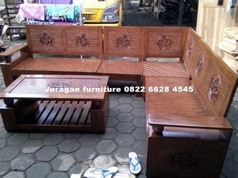 Kursi Sudut Kayu Mahoni model kursi sudut minimalis juragan furniture jepara juragan furniture jepara