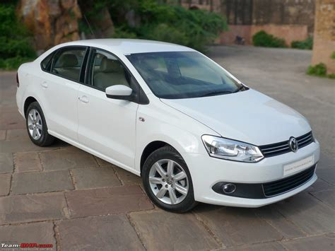 volkswagen vento white team bhp volkswagen vento test drive review