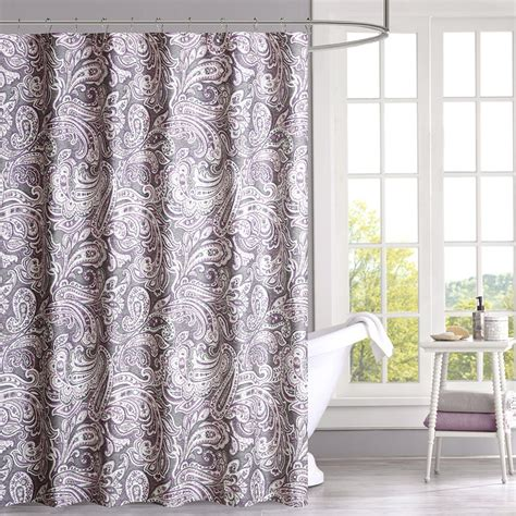 madison park laurel shower curtain madison park gabby cotton shower curtain ebay