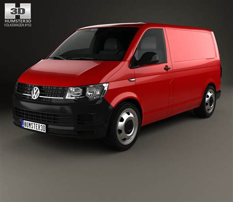 volkswagen models 2016 volkswagen transporter t6 panel van 2016 3d model