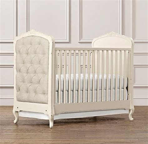 Colette Crib In Ivory From Restoration Hardware Also Tufted Baby Crib
