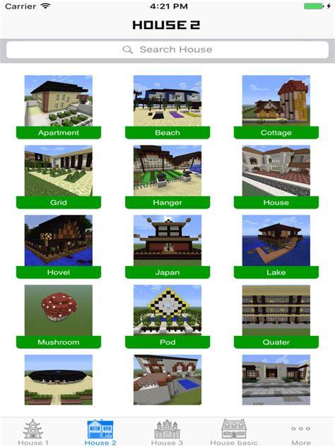 app shopper house building ideas guide for minecraft pe