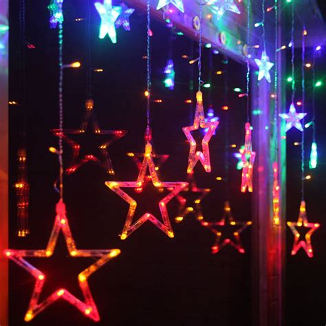 when does the festival of lights start 2m multi color led curtain string light fairty