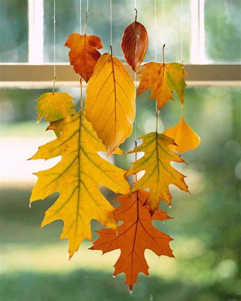 tabulous design 7 fall leaf decorating ideas
