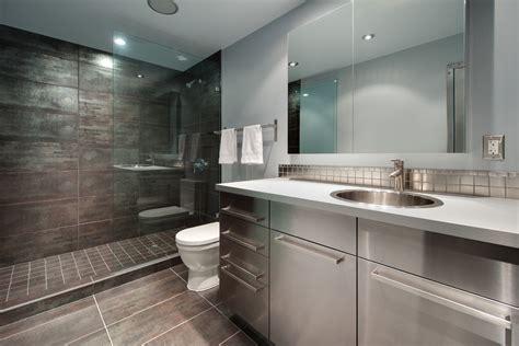steel bathroom vanity stainless steel bathroom vanity bathroom contemporary with blue tiled floors circle